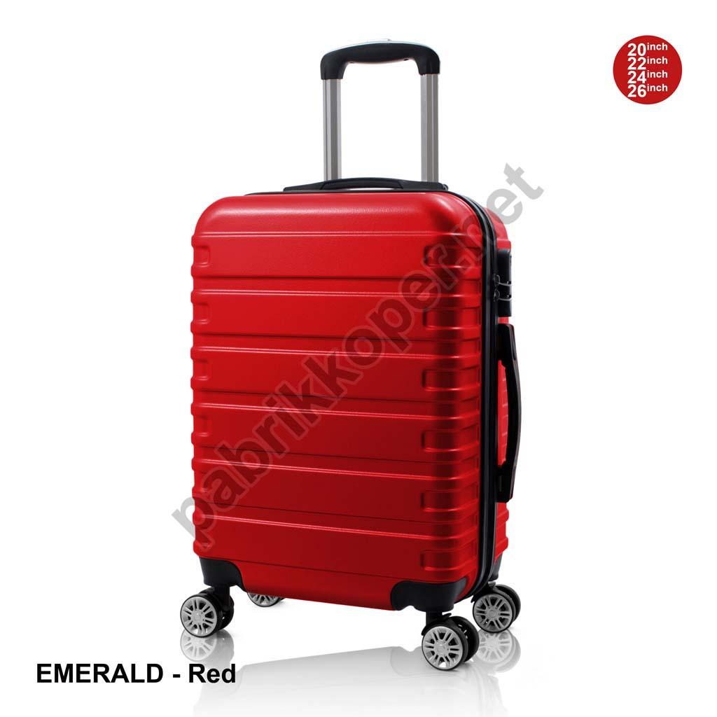 Koper-Fiber-Emerald-Red