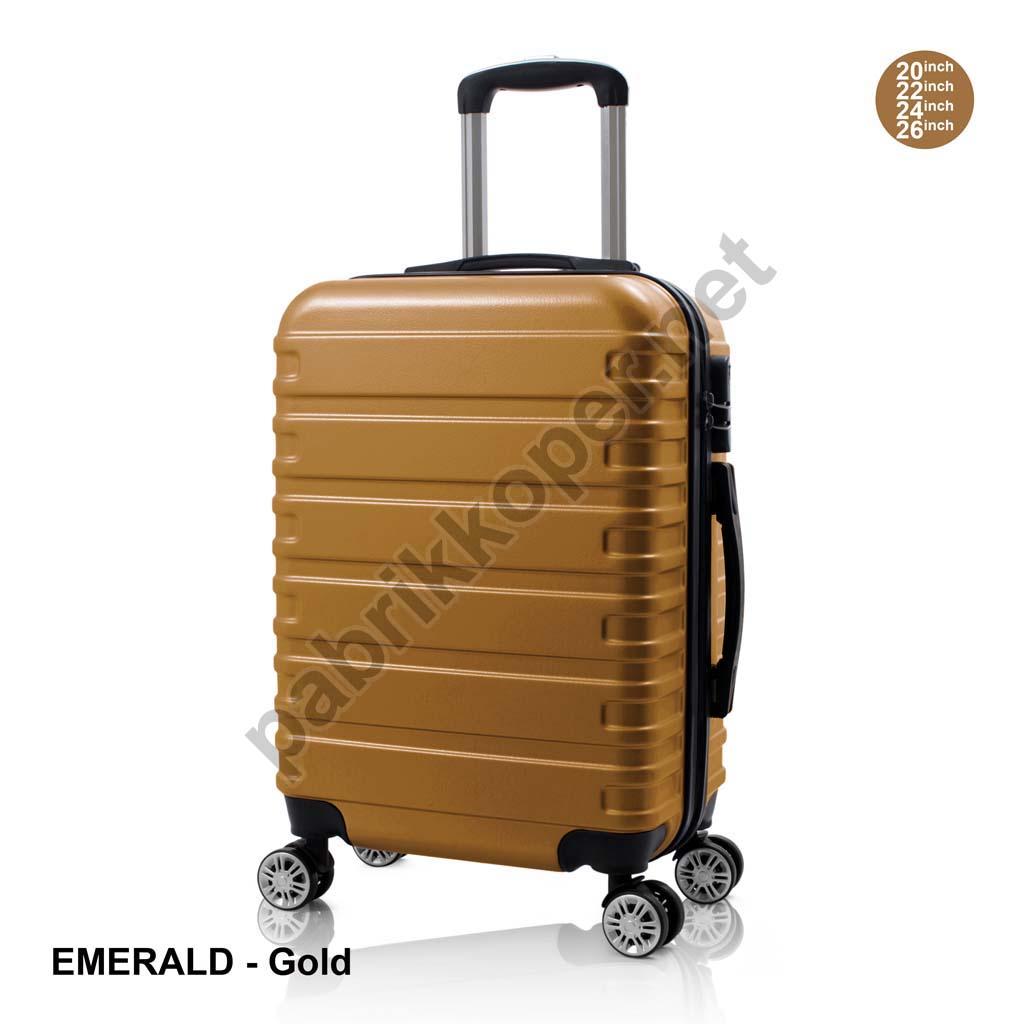 Koper-Fiber-Emerald-Gold