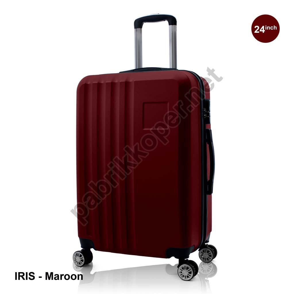 Koper-Fiber-Iris-Maroon