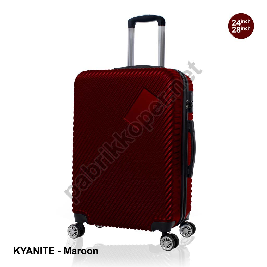 Koper-Fiber-Kyanite-Maroon