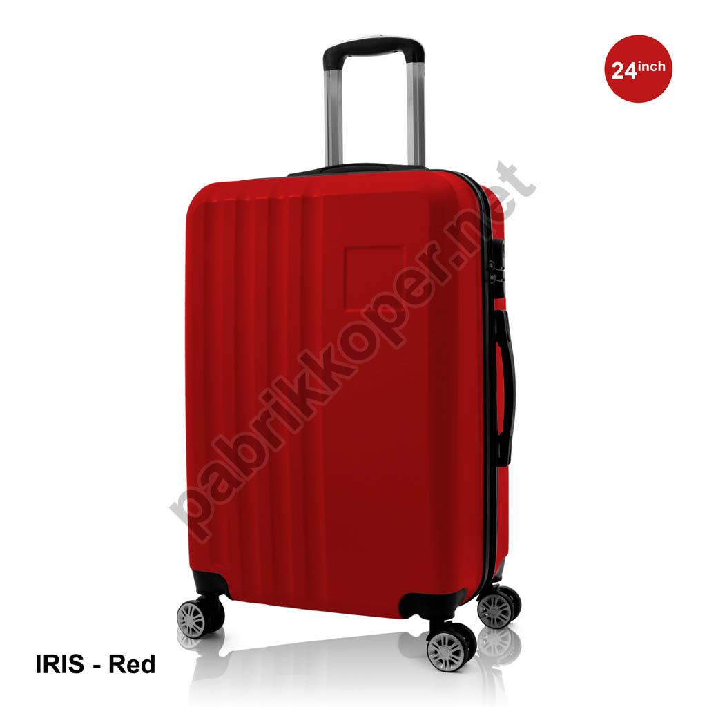 Koper-Fiber-Iris-Red