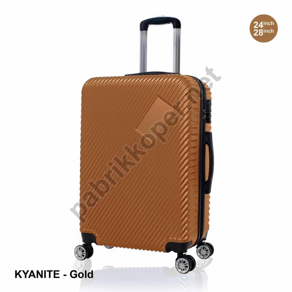 Koper-Fiber-Kyanite-Gold