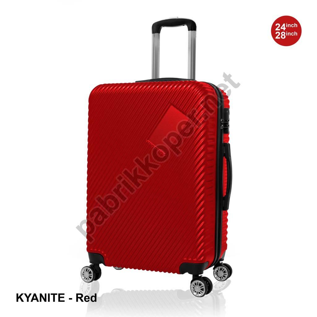 Koper-Fiber-Kyanite-Red
