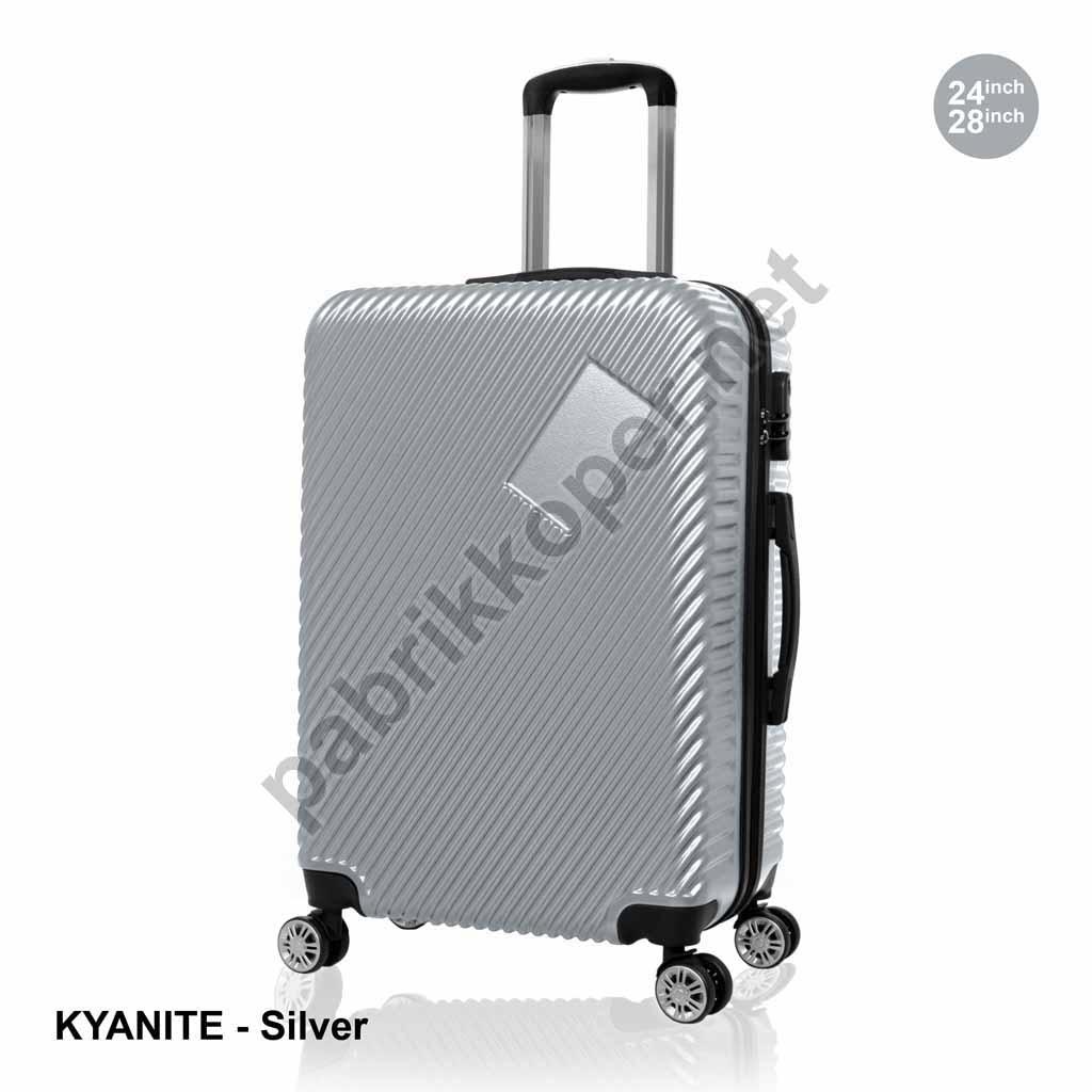 Koper-Fiber-Kyanite-Silver