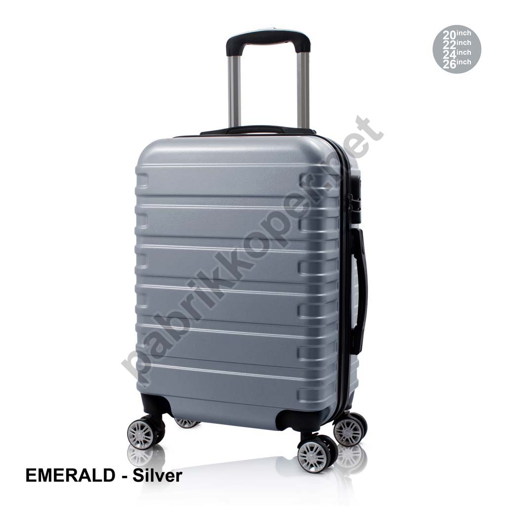 Koper-Fiber-Emerald-Silver