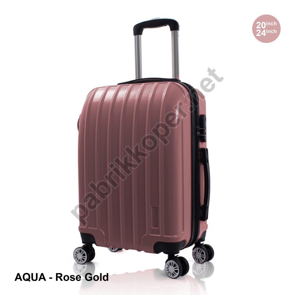 Koper-Fiber-Aqua-Rose-Gold