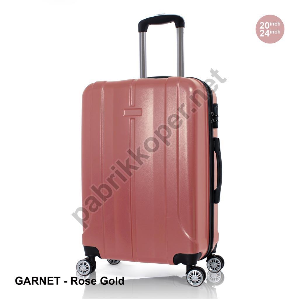 Koper-Fiber-Garnet-Rose-Gold