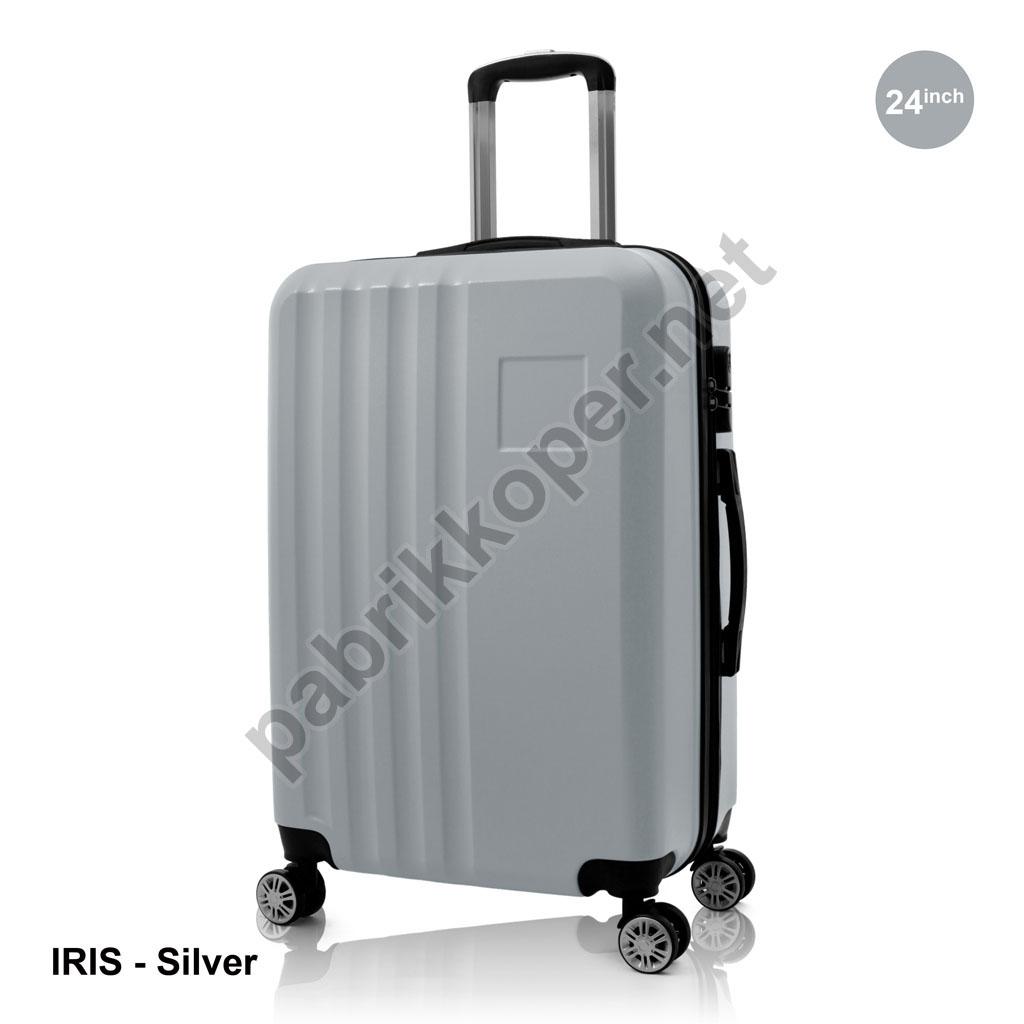 Koper-Fiber-Iris-Silver